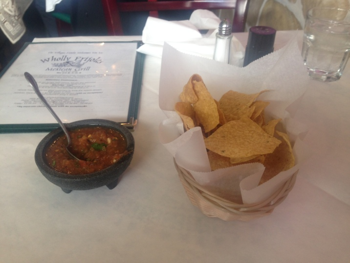 Wholly Frijoles Taco Review